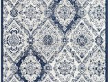 Blue Grey and White area Rug Surya Seville Sev 2304 area Rugs