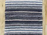 Blue Grey Bath Rug Dkny 17×24 Bath Rug Mat Navy Blue Gray Beige White Stripes 100 Cotton