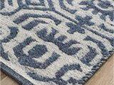 Blue Grey Wool Rug Manisa Navy & Silver Transitional Wool Rug