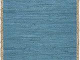 Blue Jute area Rug Amazon Com Lr Home Biscay Bay Jute Bordered area Rug 26