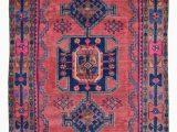Blue oriental Rug Runner Design Hamadan Size 4 6×7 10 Color Pink Blue Multi
