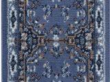 Blue oriental Rug Runner Details About Traditional Medallion Blue Persien 3 Pcs area Rug oriental Runner Mat Bo Set
