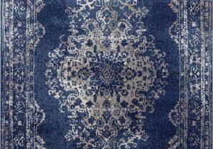 Blue oriental Rugs 8×10 Dara Rugs 3931 Dark Blue oriental 5 X 7 area Rug Carpet New