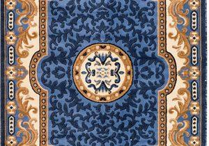 Blue oriental Rugs 8×10 Persian Rugs 2034 Blue Beige Ivory 5×7 5 2×7 2 area Rug oriental Carpet New