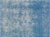 Blue Overdyed area Rug 10 X 13 Vintage Overdyed Blue Wool Rug