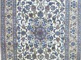 Blue Persian area Rug Beautiful Persian Silk Rug In Blue