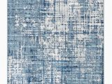 Blue Print area Rugs Collection Modern Washed Navy Blue area Rug Rugs Rugged