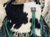 Blue Roan Cowhide Rug Pin by Jerri Fry On Cowhide Bag Leather Bag Pattern