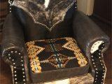 Blue Roan Cowhide Rug Tlw Creating Design Rustic Pendleton Cowhide Club Chair