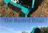 Blue Roan Cowhide Rug Upholstered Furniture Western Cowhide Cowgirl Custom