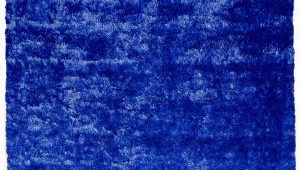 Blue Shaggy area Rug Handmade Shag Navy Blue area Rug