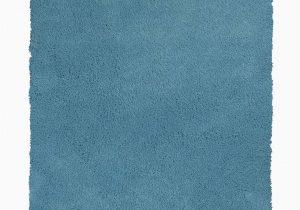 Blue Shaggy area Rug Kas Bliss 1577 Highlighter Blue Shag area Rug