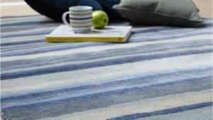 Blue Striped Wool Rug Review Ultimate Stripe 01 Blue Grey Wool Rug by