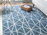 Blue Trellis area Rug Blue Lattice Trellis area Rug In 2020