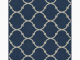 Blue Trellis area Rug Hedley Moroccan Trellis Lattice Blue area Rug