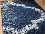 Blue Trellis area Rug Navy Blue 5 X 8 Trellis Rug area Rugs