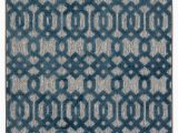 Blue Trellis area Rug Nolita Trellis Gray Blue Indoor Outdoor area Rug