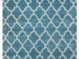 Blue Trellis area Rug Rizzy Home Julian Pointe Jp8747 Aqua Blue Trellis area Rug