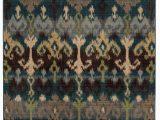Blue Tribal area Rug tommy Bahama Vintage 8122n Tribal Blue area Rug