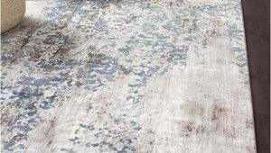 Blue White and Grey Rug Casper Distressed Modern Rug Blue Grey White