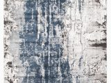 Blue White and Grey Rug Roxana Distressed Timeless Rug Blue Grey White – Rugsdirect