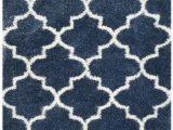 Blue White Shag Rug Blue White soft Shag Safavieh Com