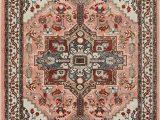 Blush Pink area Rug 5×7 Well Woven Occhio Vintage Medallion Blush Pink area Rug 5×7