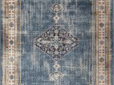"""Bohemian Rug Collection Ouman Blue thatch Amazon orian Meadow Ouman area Rug 7 10"""" X 10 10"""