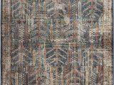 "Bohemian Rug Collection Ouman Blue thatch Amazon orian Meadow Safavid area Rug 7 10"" X 10 10"
