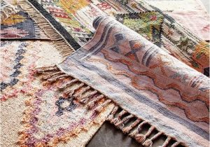 Boho Woven Cotton Kilim Alina area Rug 5×8 Boho Woven Cotton Kilim Alina area Rug V4 Boho