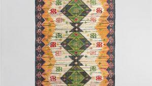 Boho Woven Cotton Kilim Alina area Rug 5×8 Boho Woven Cotton Kilim Alina area Rug World Market