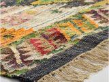 Boho Woven Cotton Kilim Alina area Rug Boho Woven Cotton Kilim Alina area Rug World Market
