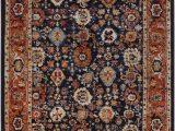 Brahim Red Black area Rug Brahim oriental Jute Sisal Multicolor area Rug