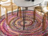 Braided area Rug 5 X 8 Nuloom Tammara Hand Braided area Rug 5 X 8 Multi