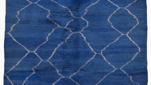 Bright Blue Shag Rug Bright Blue Shag — James Duncan
