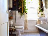 Bright Colored Bathroom Rugs by Adding A Few Live Plants & A Bright Colored Tribal Print
