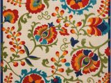 Bright Colored Floral area Rugs Floral & Plant area Rugs You Ll Love In 2020