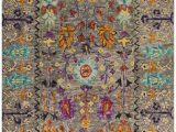 Bright Colored Floral area Rugs Safavieh Blossom Blm453a Grey Multi area Rug
