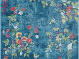 Bright Colored Floral area Rugs Surya Aura Silk ask 2334 area Rug In 2020