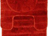 Bright Red Bath Rugs Casale Home Bright Nylon 3 Piece Bath Rug Set