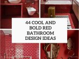 Bright Red Bathroom Rugs 44 Cool and Bold Red Bathroom Design Ideas Digsdigs