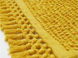 Bright Yellow Bathroom Rugs Pdp