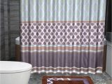 Brown and Blue Bathroom Rugs Empire Olivia 15 Piece Royalty Bathroom Accessories Set Rugs Shower Curtain & Matching Rings Brown & Blue