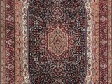 """Brown and Blue Rugs for Sale Charach Blue Superb oriental 5 5""""x8 Rug E2181"""