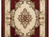 Brown and Maroon area Rugs United Weavers Bristol 2050 Fallon Burgundy area Rug