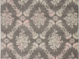 Brown and Pink area Rugs Nourison Tranquil Tra09 Pink and Grey Hallway area Rug nor Tra09 Grey Pink