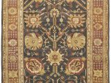 Brown and Rust area Rugs Due Process Jinan Tabriz Brown Rust area Rug