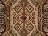 Brown and Rust Colored area Rugs Rizzy Home Collection Wool area Rug 5 X 8 Multi F White Burgundy Light Blue Sage Rust Brown southwest Tribal