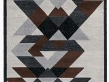 Brown Black and Gray area Rugs Abstract Gray Brown Black area Rug
