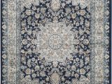 Burciaga Blue area Rug Safavieh Persian Garden Peg605t Light Grey Blue Light
